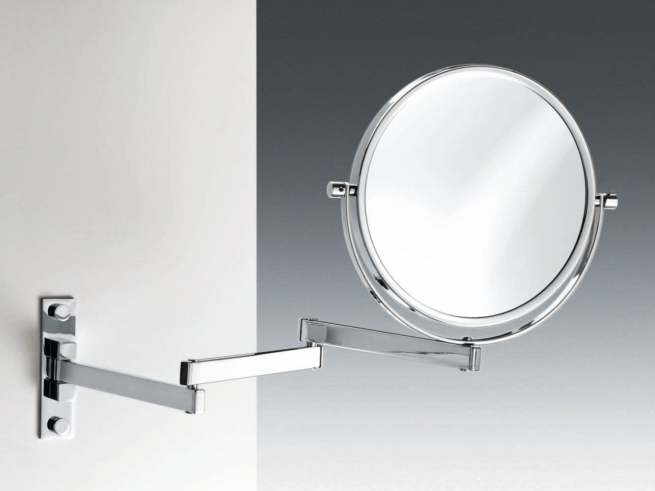 Round wall mounted shaving mirror spt 29 by decor walther for Shaving mirror