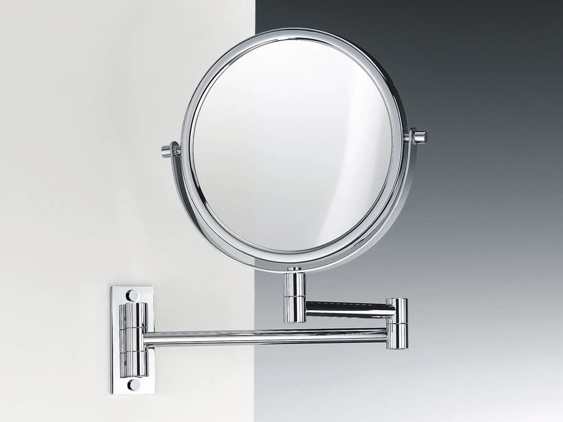 round wall mounted shaving mirror spt 33 by decor walther. Black Bedroom Furniture Sets. Home Design Ideas