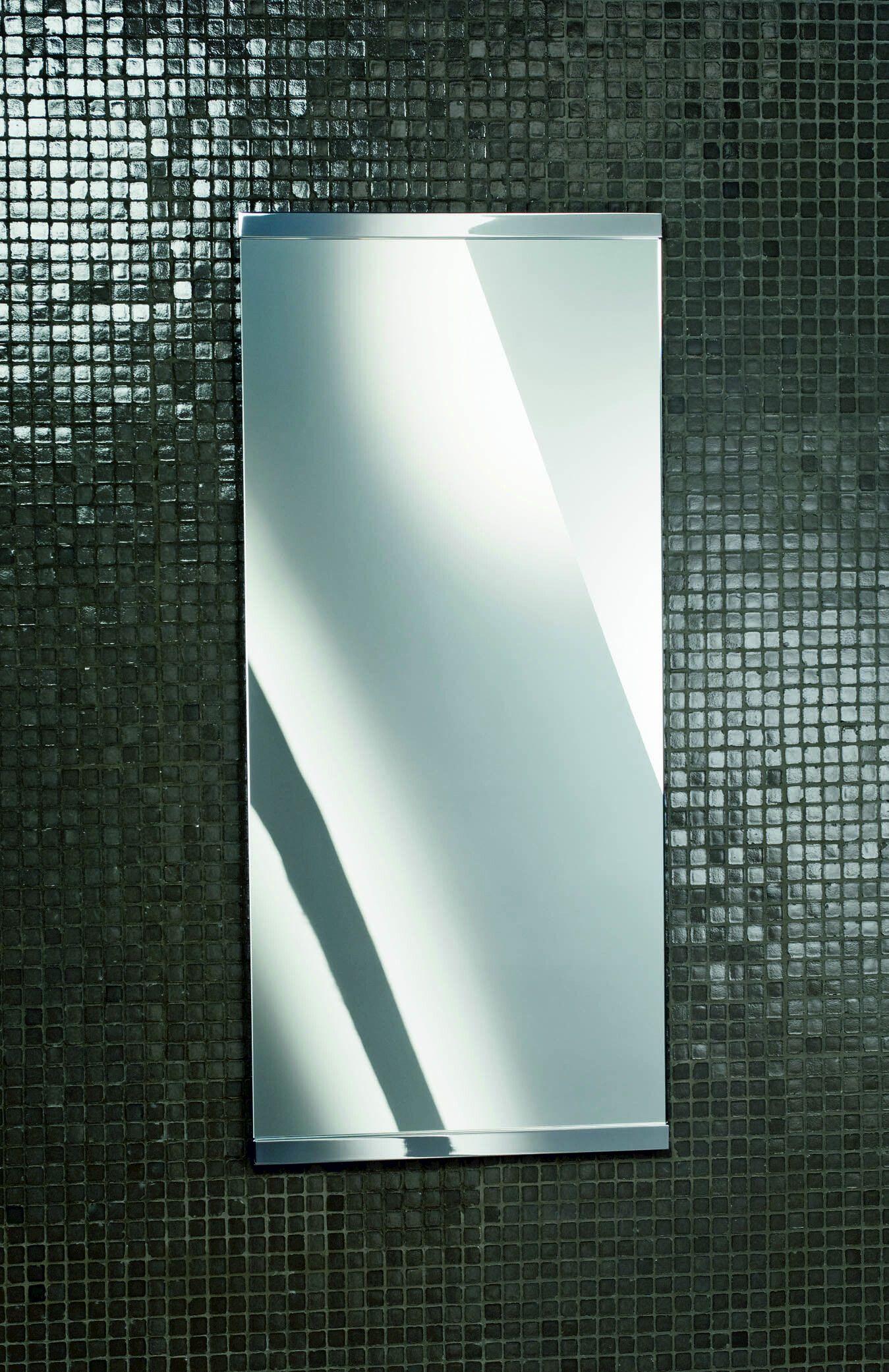 Miroir rectangulaire mural pour salle de bain sp 90 by for Colle pour miroir mural