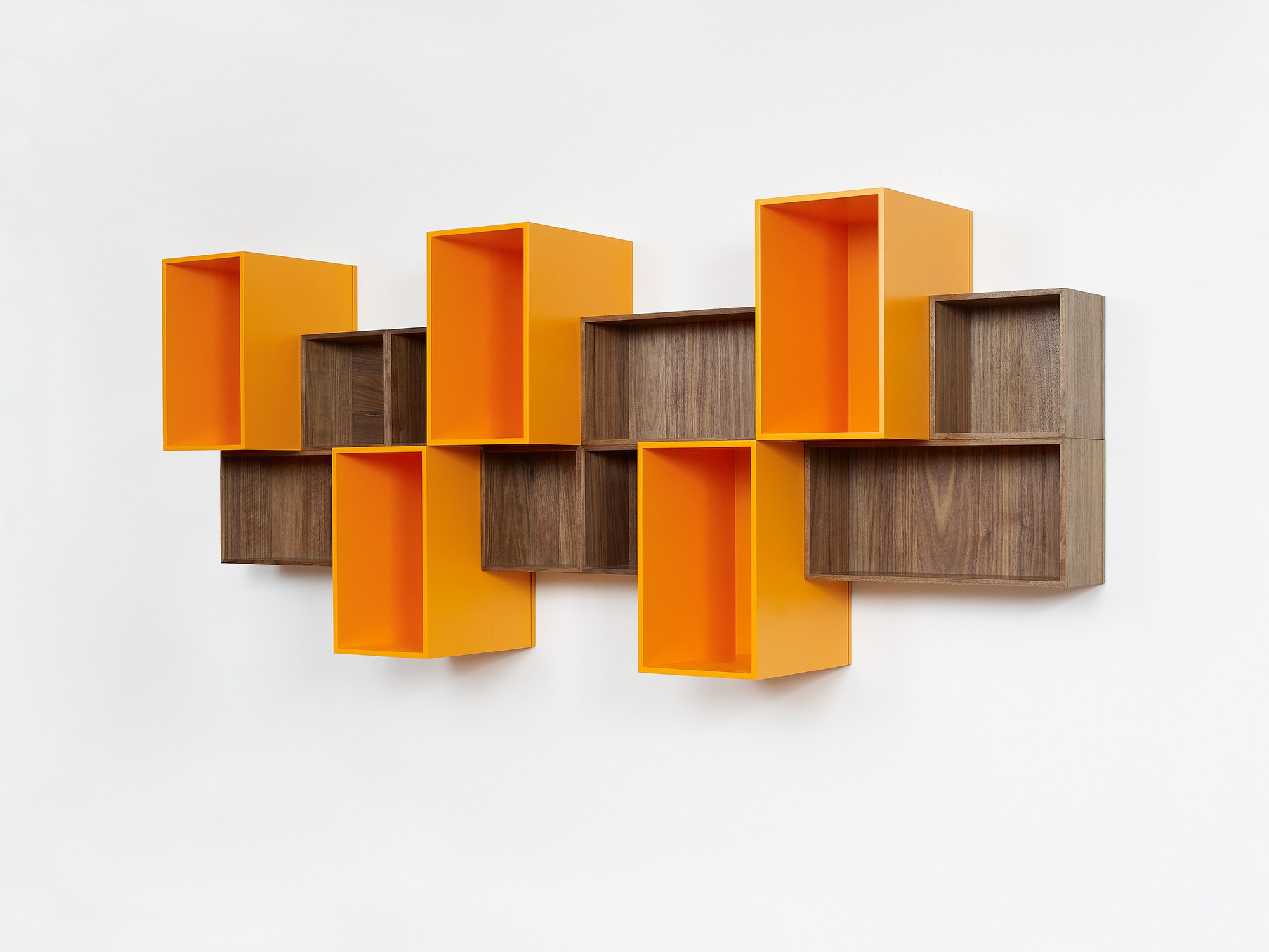 Biblioth que murale modulable by cubit by mymito design cubit - Bibliotheque murale contemporaine ...