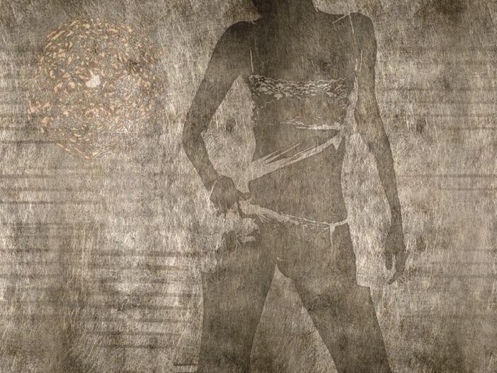 Carta da parati effetto muro shadows by wall dec design for Carta da parati effetto muro