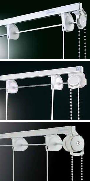 gardinenschiene f r raffrollos rotary 444 kollektion raffvorh nge by mottura sistemi per tende. Black Bedroom Furniture Sets. Home Design Ideas
