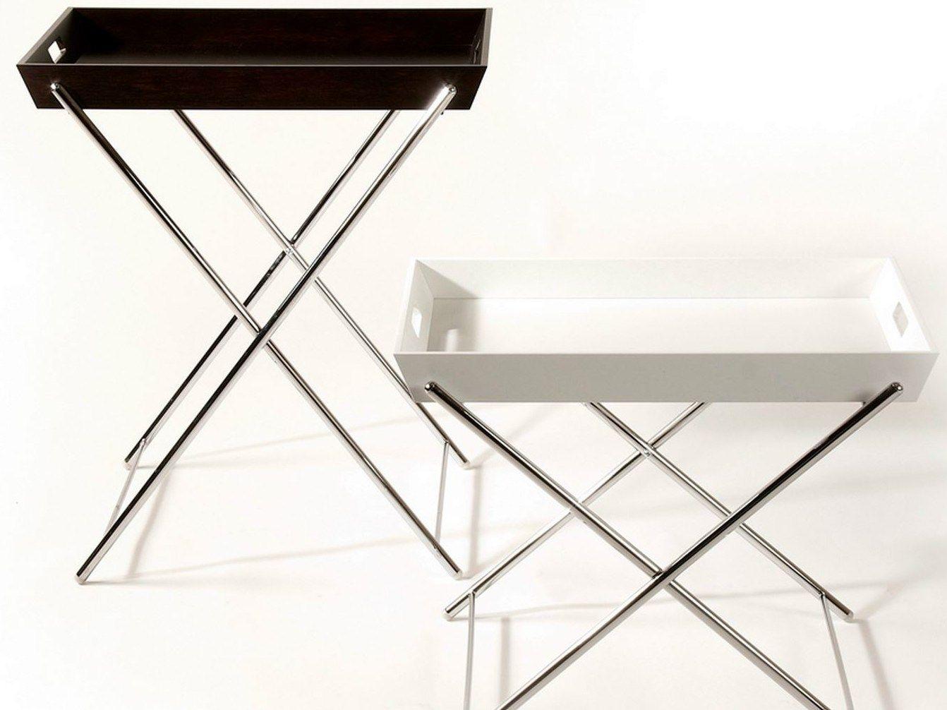 Tavolino vassoio miami by adentro design marco zanuso for Tavolino vassoio