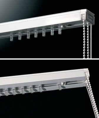 Vertical Blinds Headrail Dual 359 Vertical Blinds