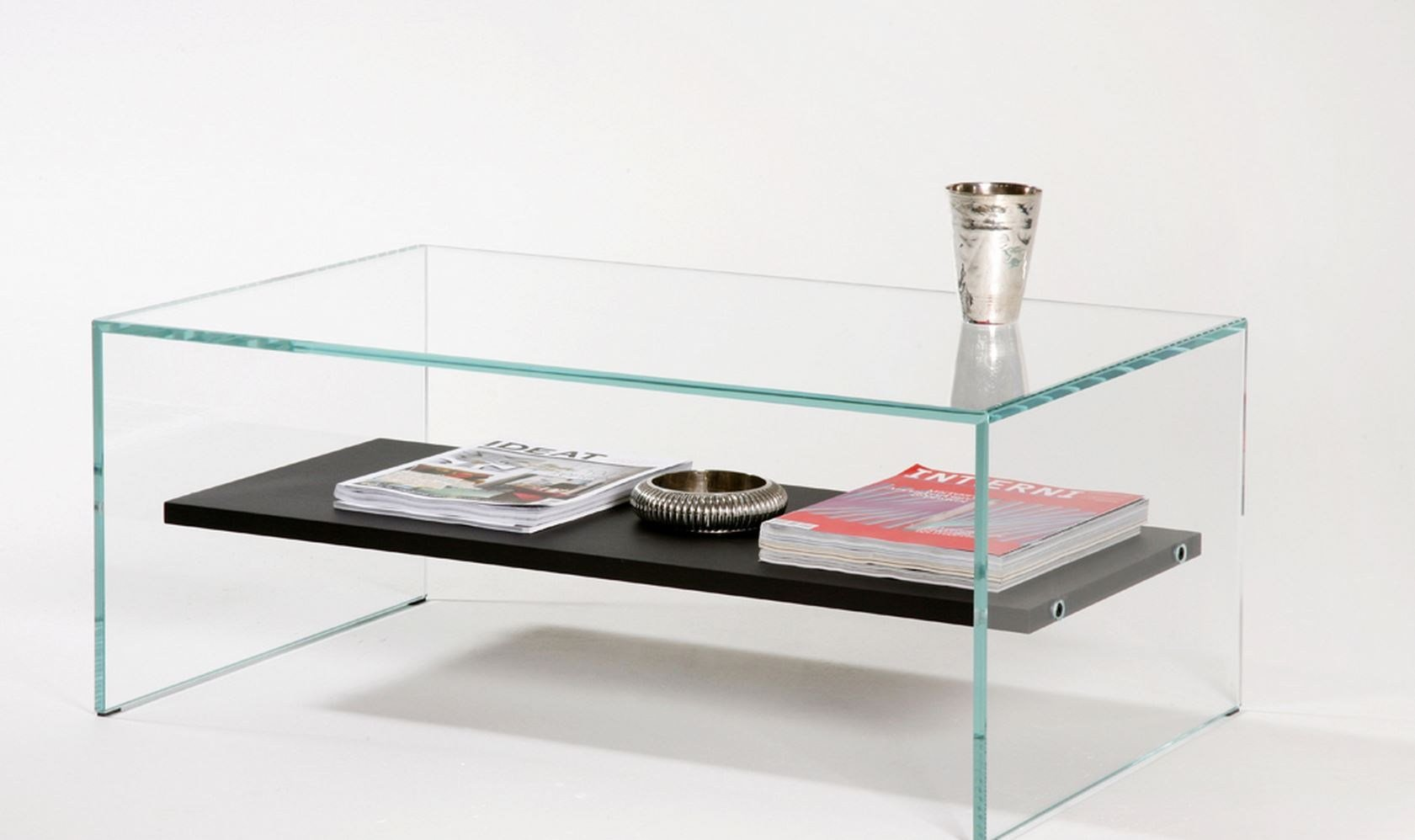 table basse avec plateau bois verre tremp extra clair transparence zen 1 by adentro design. Black Bedroom Furniture Sets. Home Design Ideas