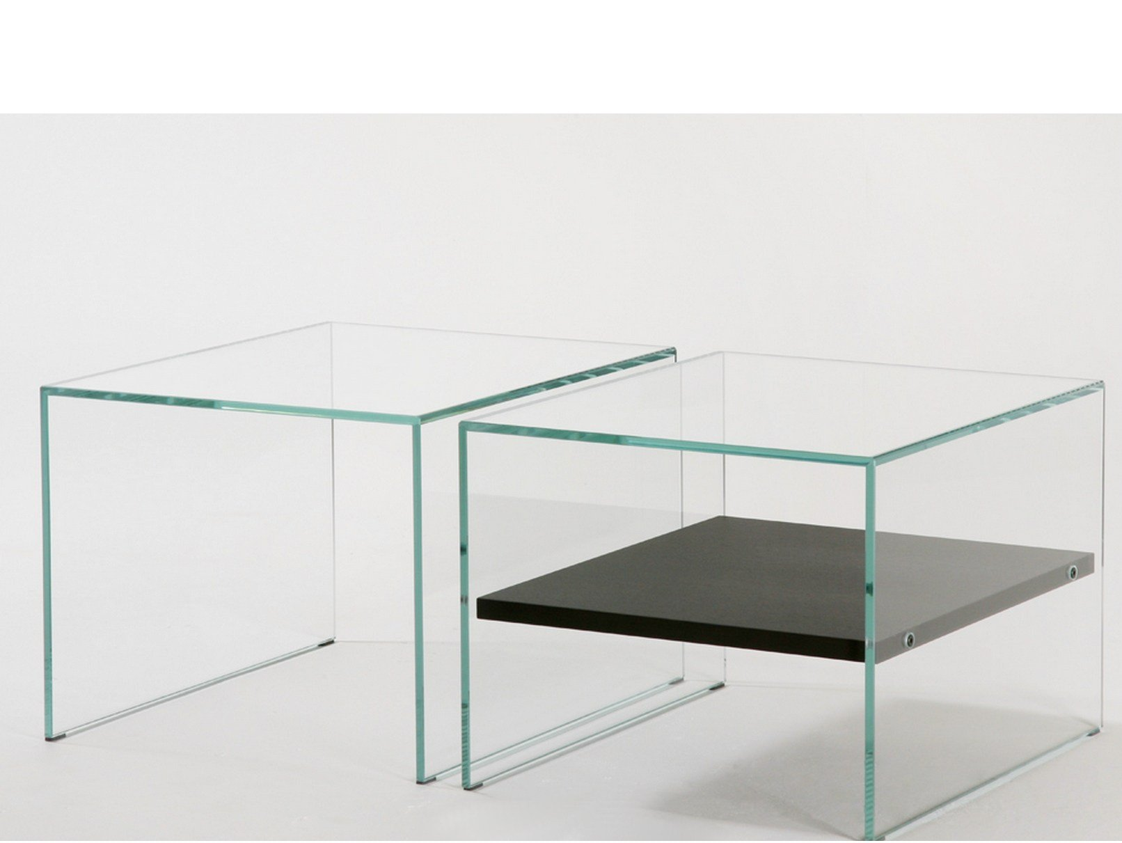 Table basse en verre tremp brothers zen 2 by adentro - Table basse en verre trempe ...