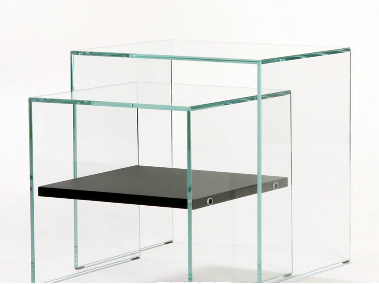 Tempered Glass Nest Of Tables Sisters Zen 3 By Adentro Design Adentro Studio