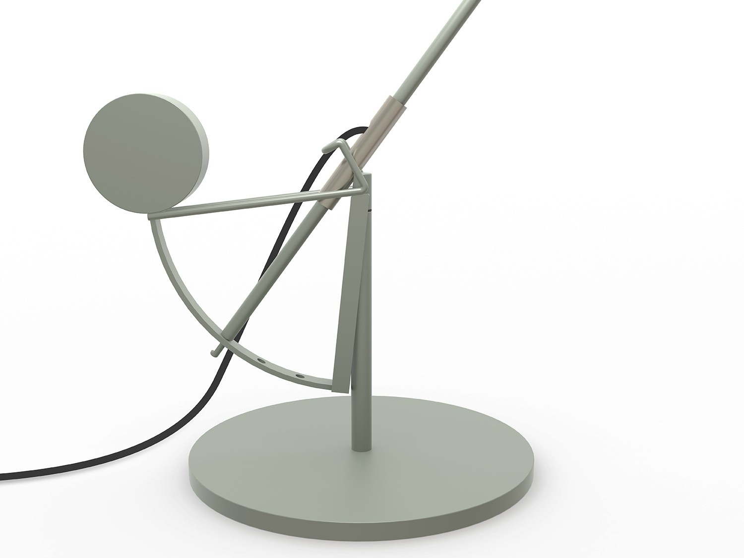 tischleuchte mit beweglichem arm bs3 by dcw ditions design bernard schottlander. Black Bedroom Furniture Sets. Home Design Ideas