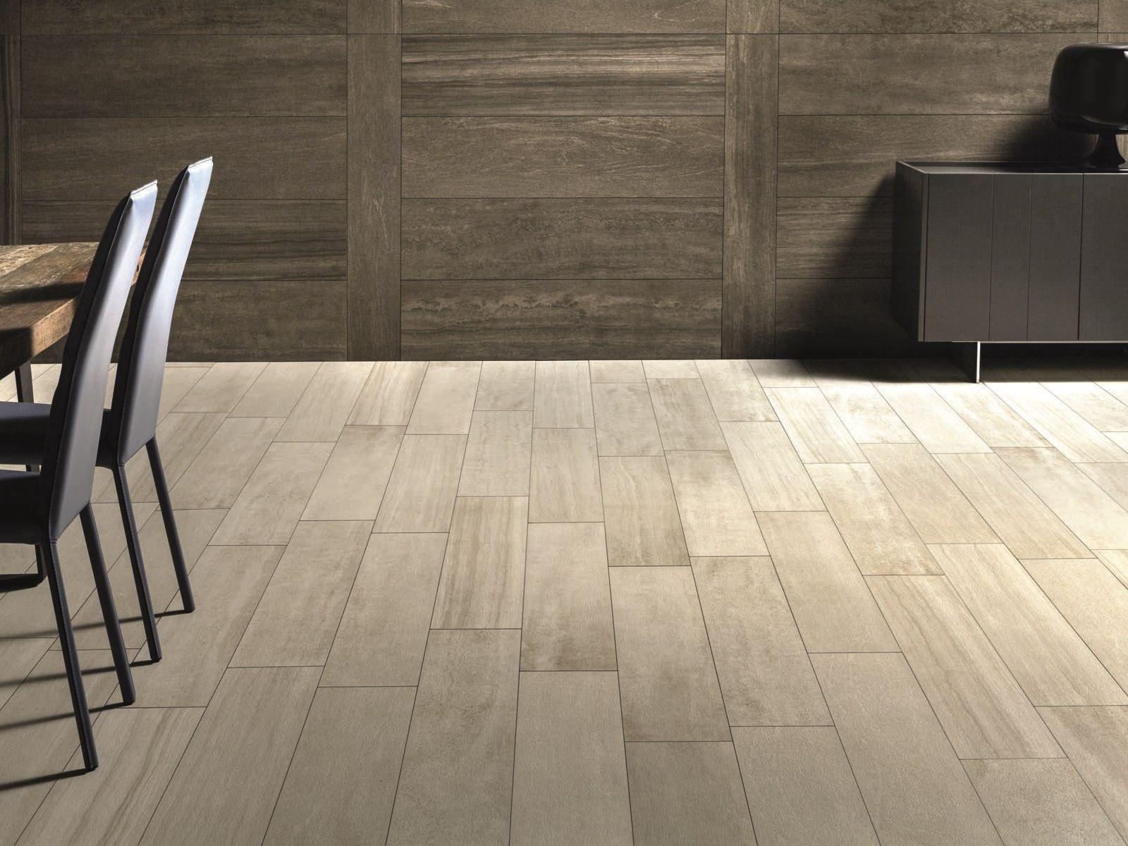 Revestimiento de pared suelo efecto piedra verse chestnut for Losetas para pisos interiores