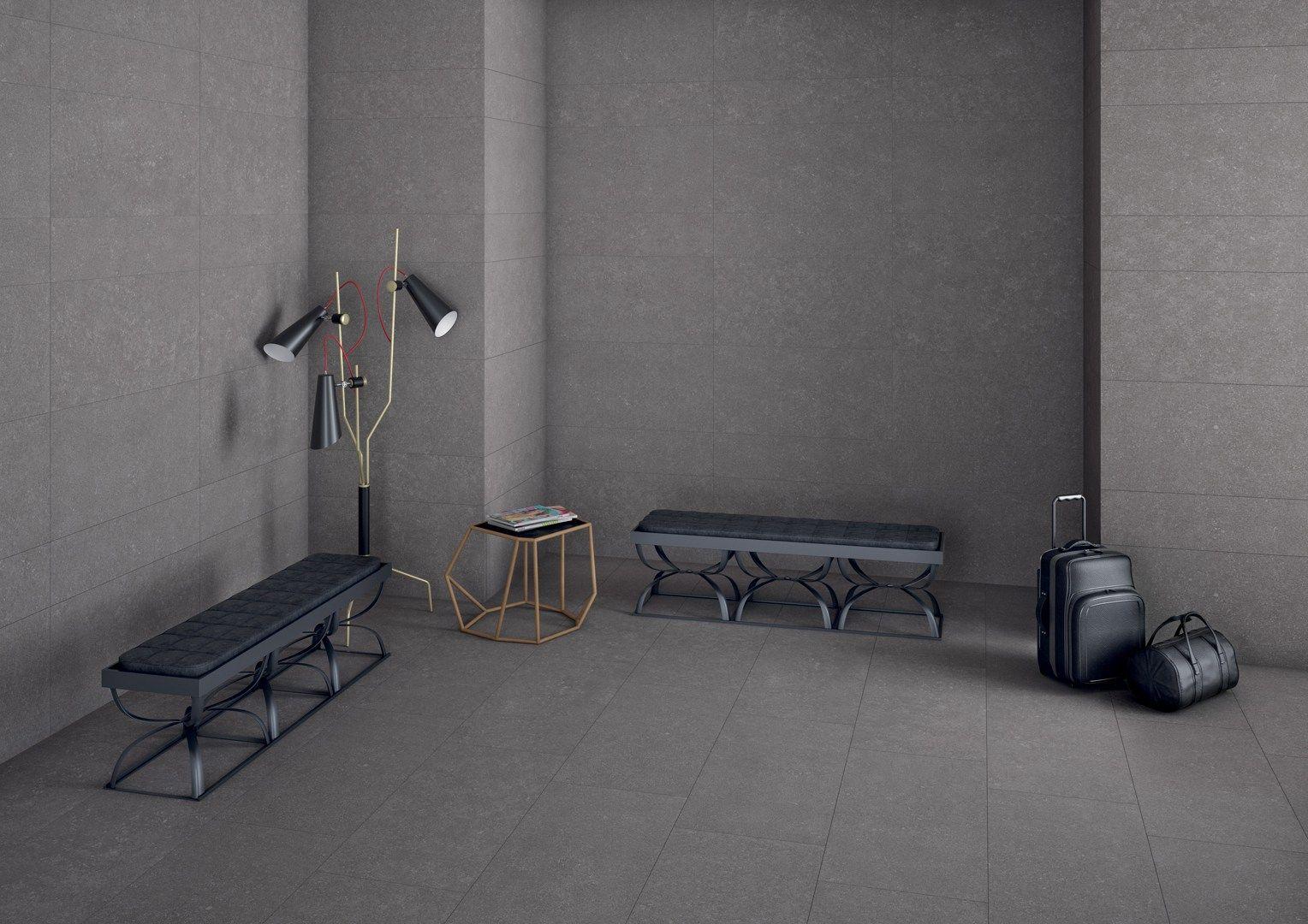 rev tement de sol mur cologique effet marbre pour int rieur et ext rieur klever anthracite. Black Bedroom Furniture Sets. Home Design Ideas