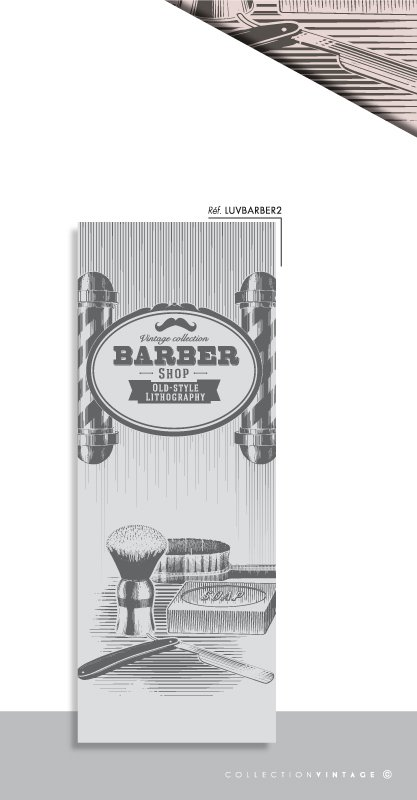 Related Pictures vintage barber pole over isolated white background ...
