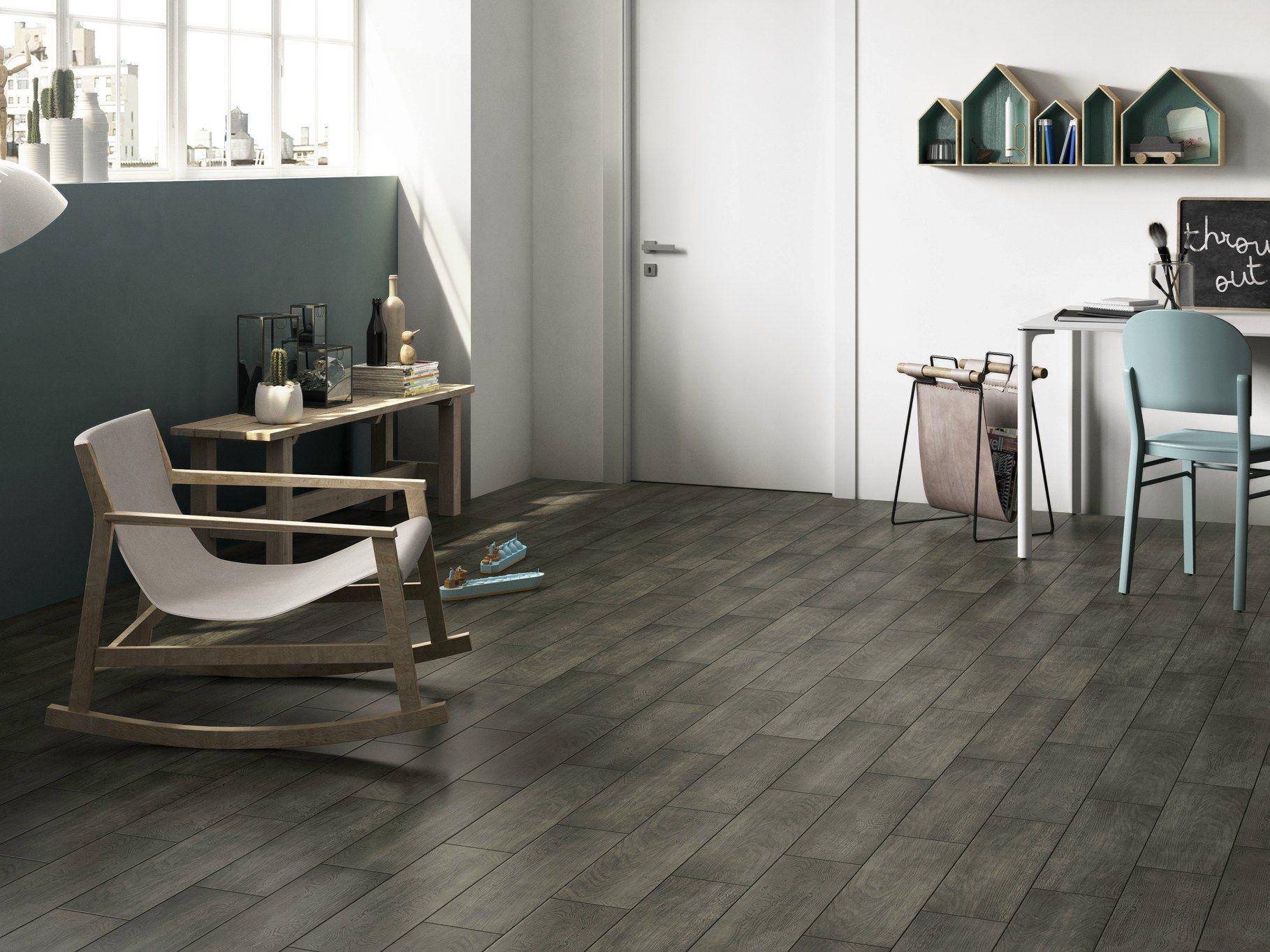 Pavimento in gres porcellanato smaltato effetto legno - Piastrelle faenza ...