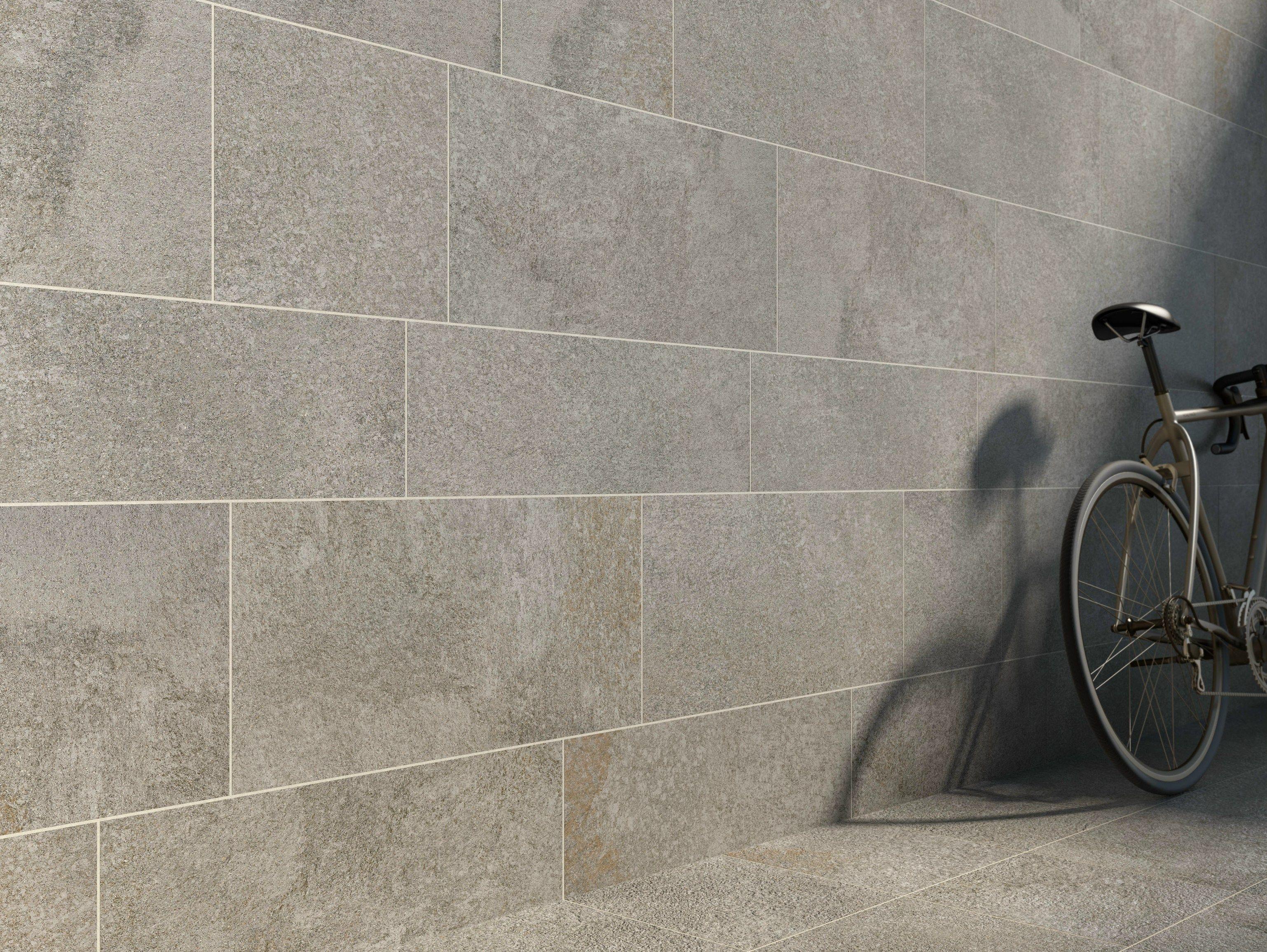 Pavimento rivestimento in gres porcellanato effetto pietra - Rivestimento bagno gres porcellanato ...