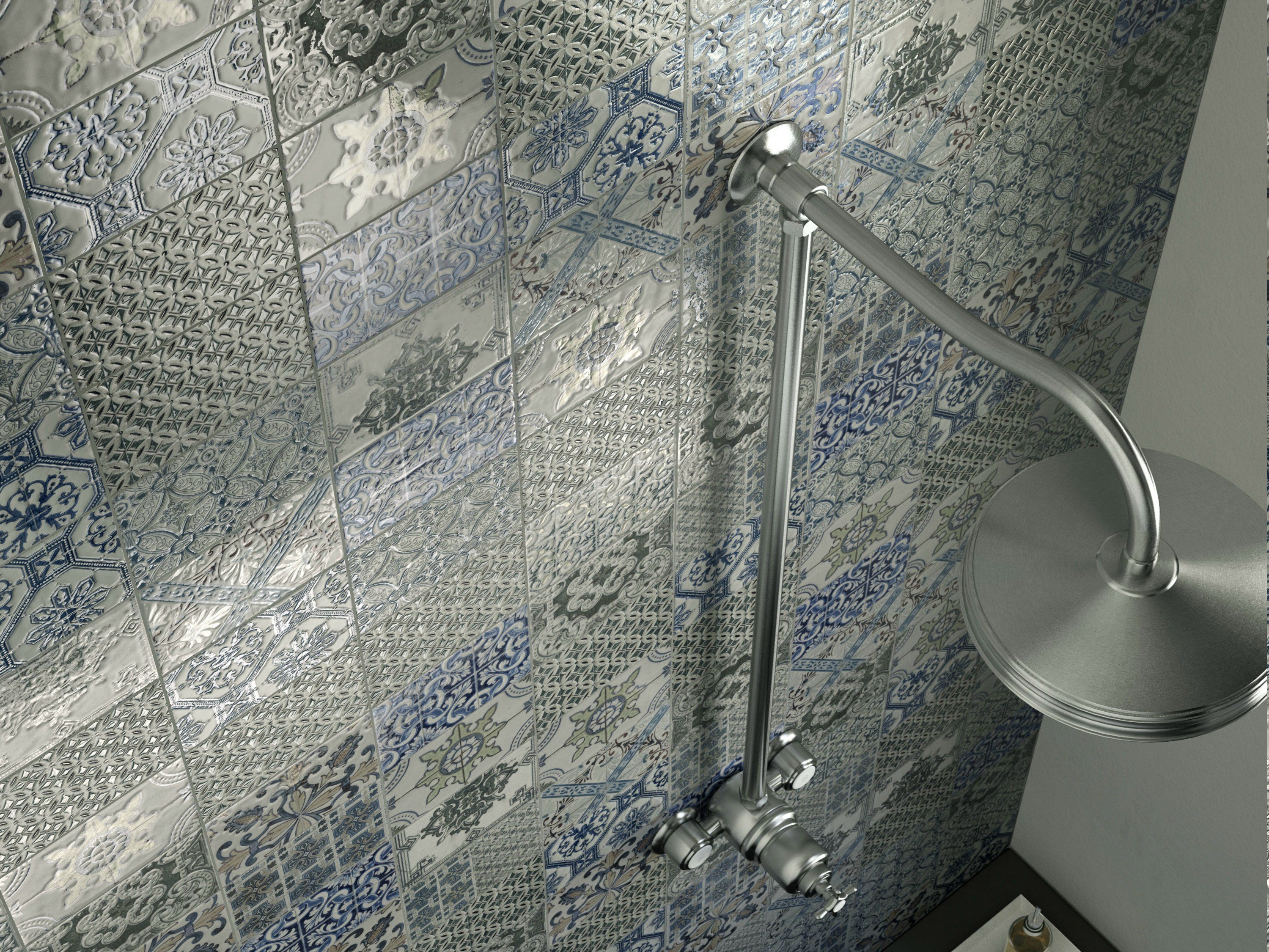 Double fired ceramic wall tiles via veneto by cooperativa for Imola carrelage