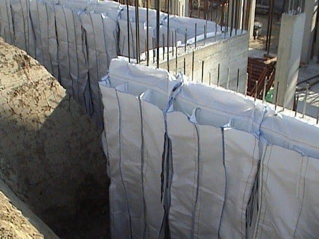 Sacchi per isolamento di strutture verticali controterra ...