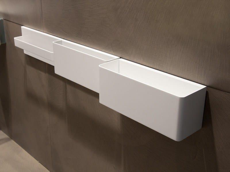 Porta asciugamani in metallo collezione elle3 by moab 80 design gabriella ciaschi - Porta asciugamani design ...