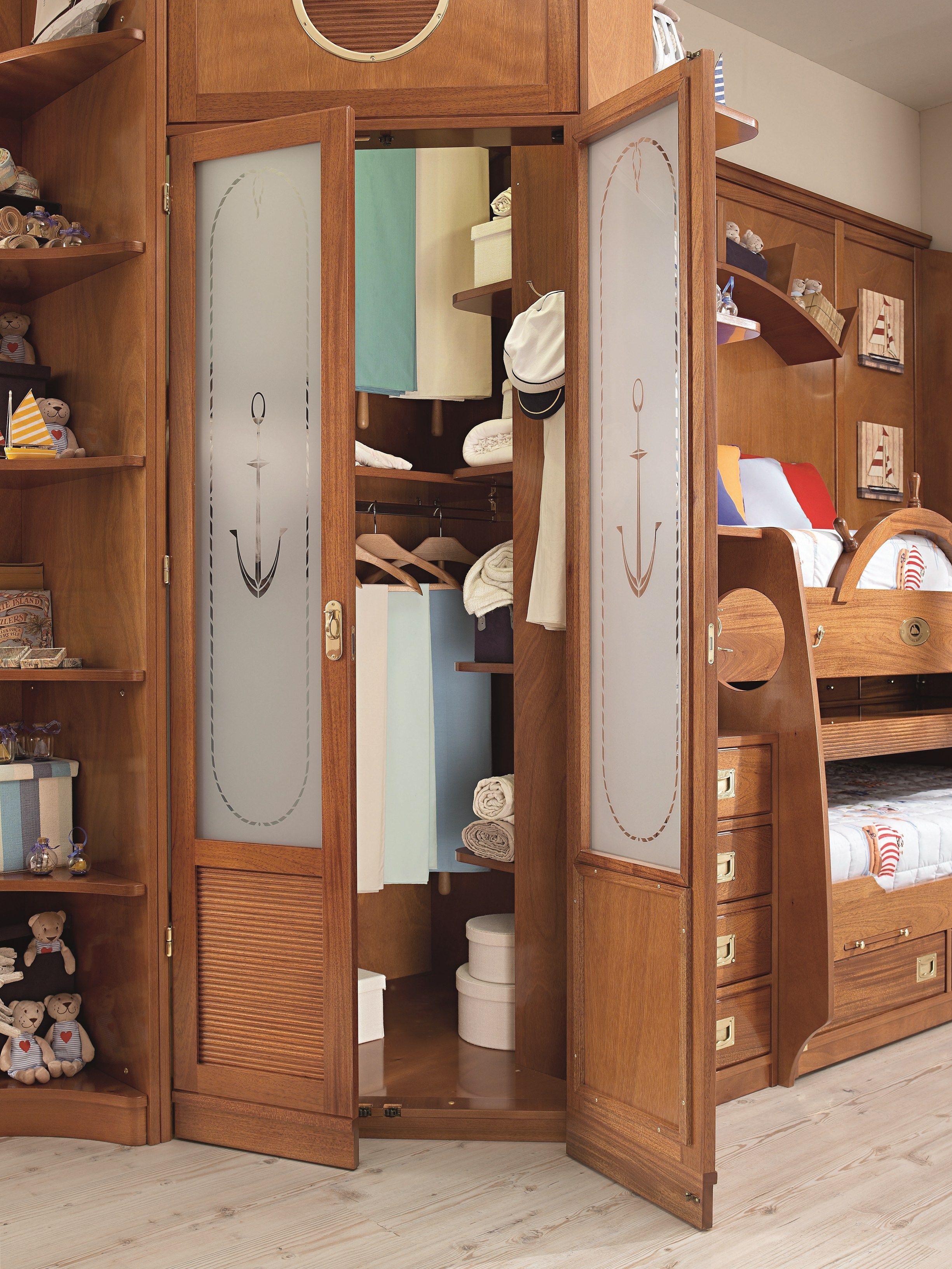 244 letto con armadio by caroti for Letto a castello con armadio
