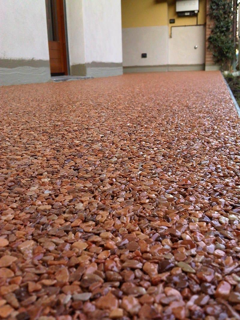 Pavimento continuo para exterior tecsit decor by tecsit - Pavimentos exteriores precios ...