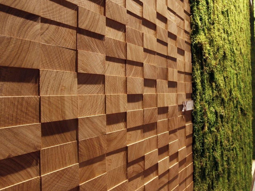 Painel de parede 3D de madeira SAFARI by MENOTTI SPECCHIA PROJECT  #A68425 1088x816
