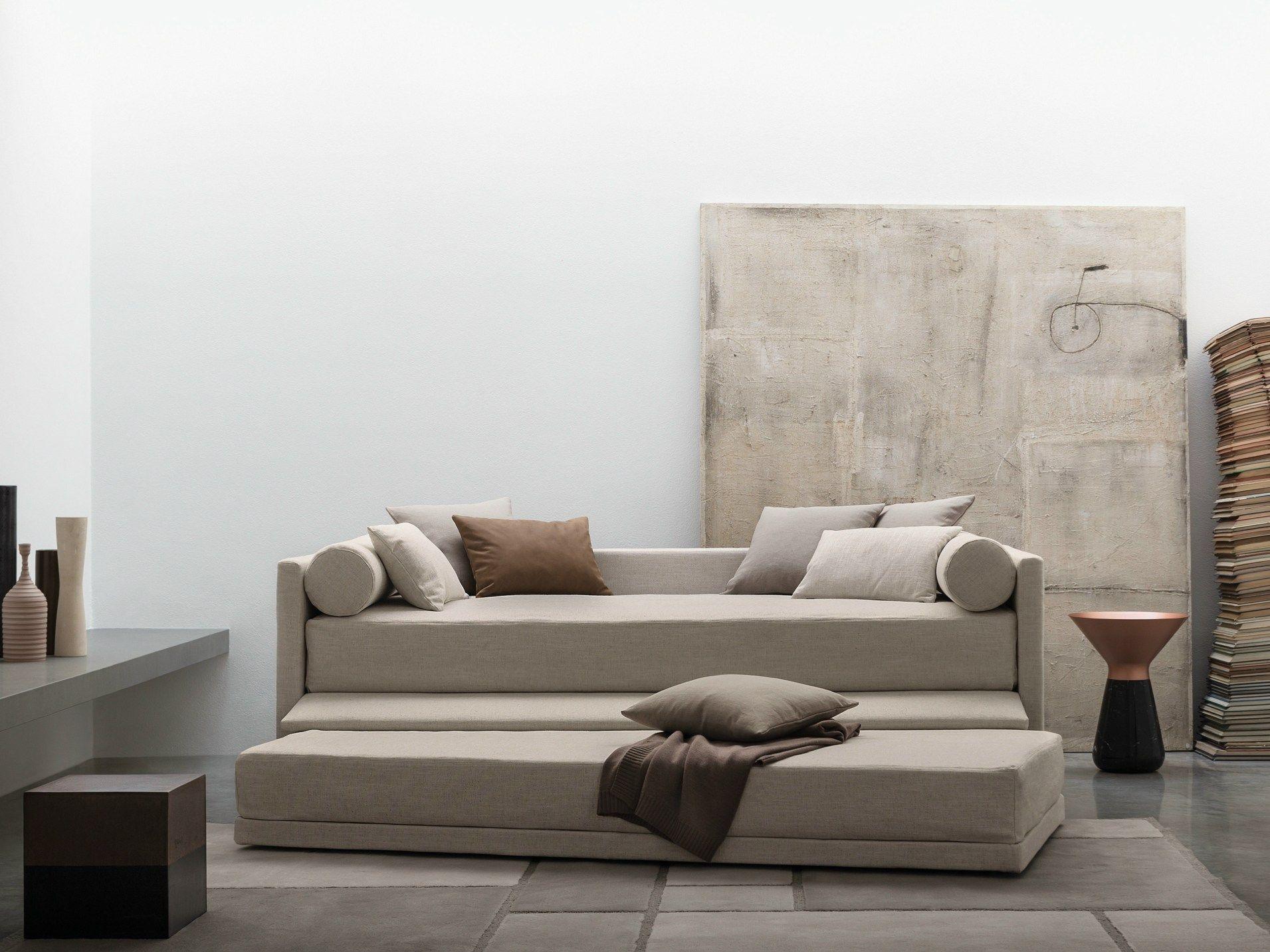 Biss letto trasformabile by flou design pinuccio borgonovo - Letto flou singolo ...
