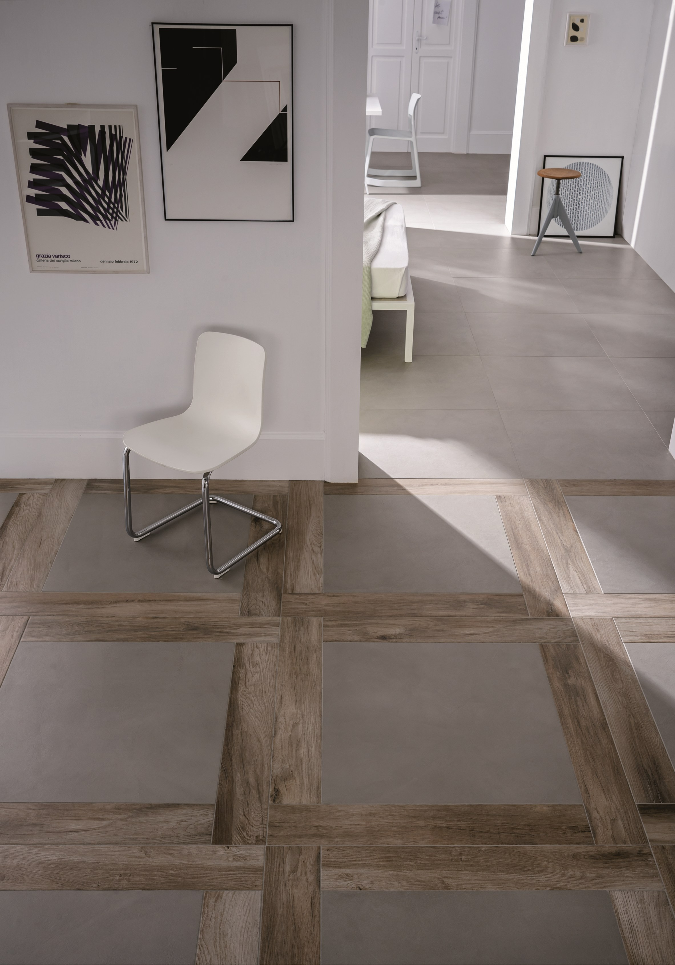 Pavimento rivestimento in gres porcellanato block by marazzi for Carrelage marazzi