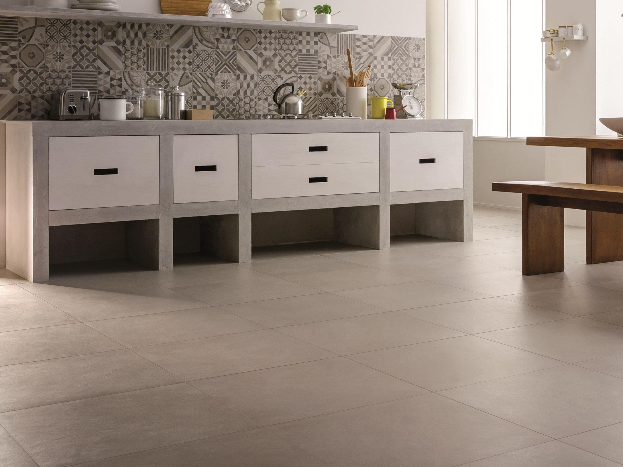Revestimiento de pared suelo de gres porcel nico block by - Suelo gres porcelanico ...