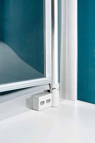 america cabine de douche avec porte battante by samo. Black Bedroom Furniture Sets. Home Design Ideas