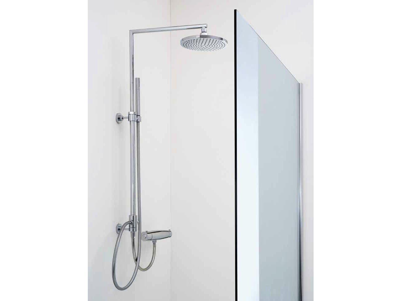 Colonne de douche avec rangement for Rangement de douche