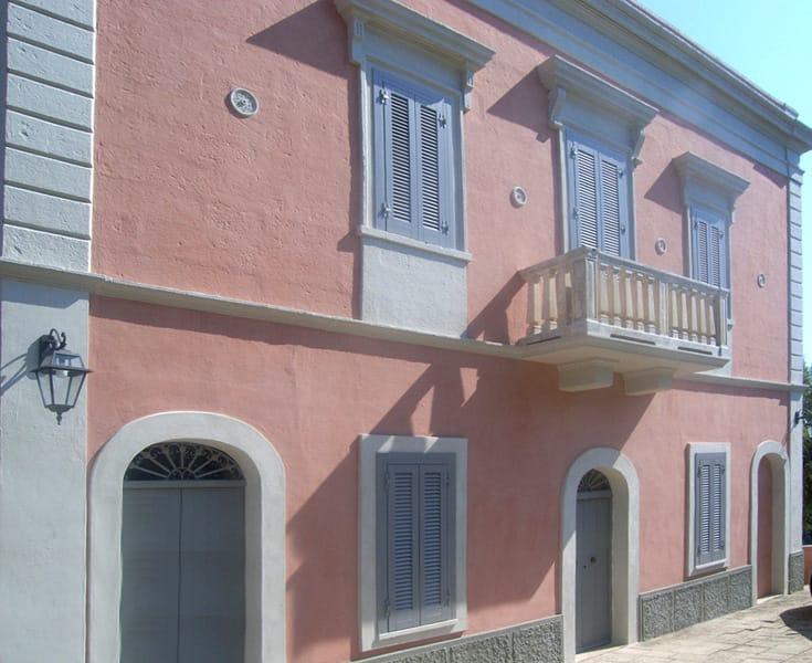 Breathable water based paint by calceviva adriatica legnami - Colori facciate esterne case ...