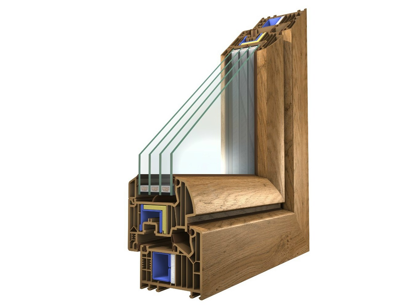 PVC WINDOW WINERGETIC PREMIUM PASSIVE WINERGETIC COLLECTION BY