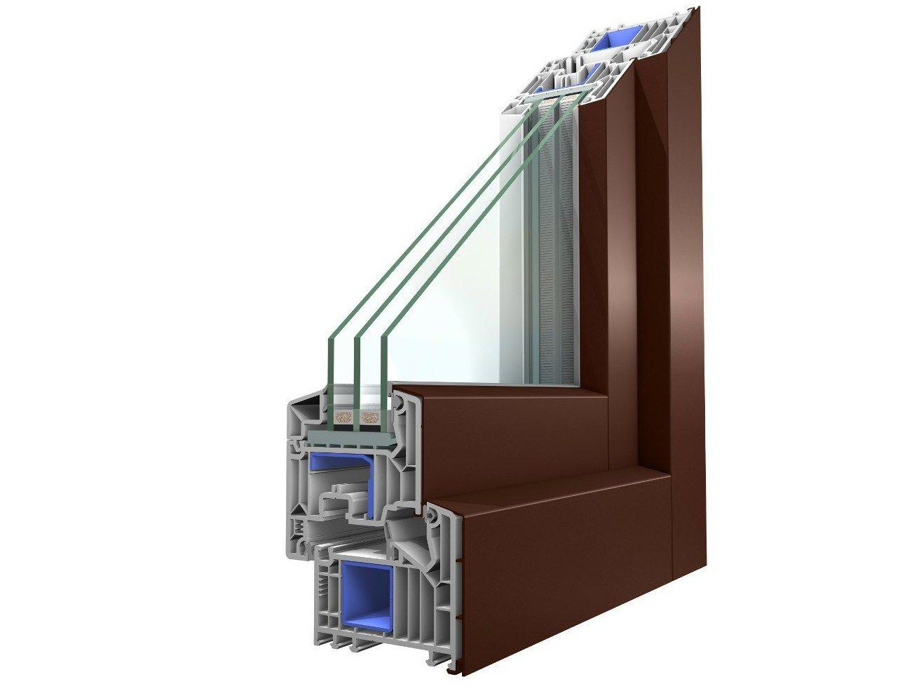 Fen tre en aluminium et pvc avec triple vitrage winergetic for Fenetre pvc et aluminium