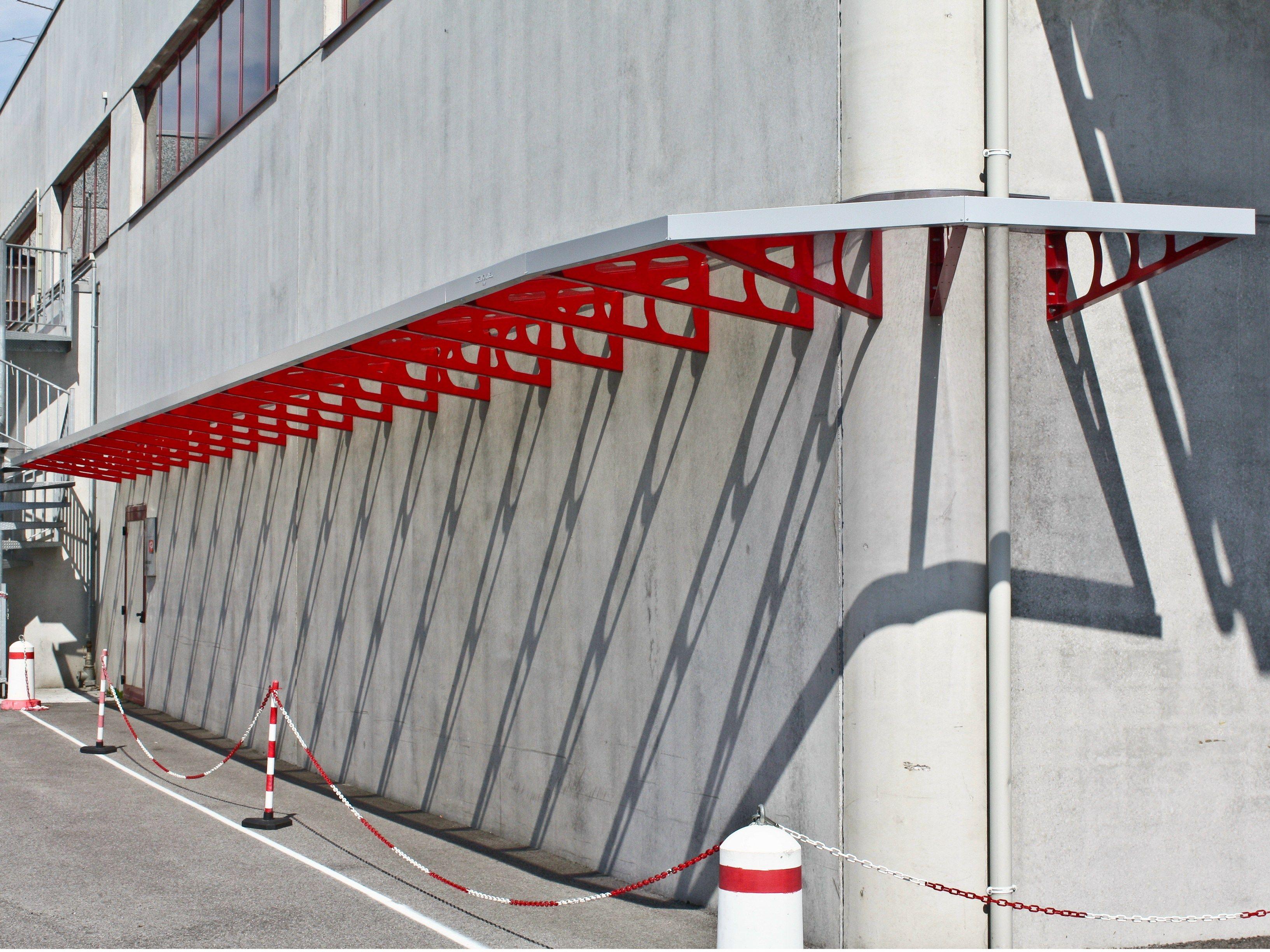 #861515 Alpendre em aço Toldo portas e janelas by SELVOLINA 610 Janelas En Vidros