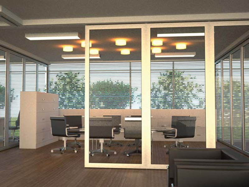 Glass movable sound proof partition walls pmiv glass by for Movable partition wall systems