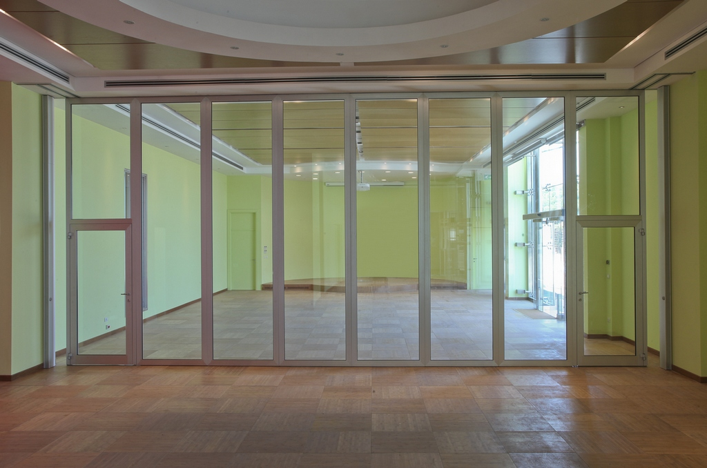 Glass Movable Sound Proof Partition Walls Pmiv Glass By
