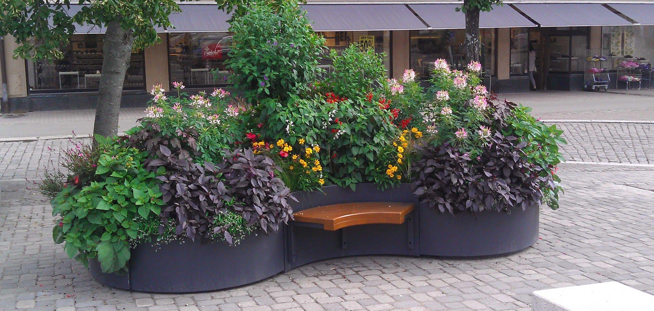 Jardinera en acero fl by metalco dise o alessandro lenarda - Imagenes de jardineras ...