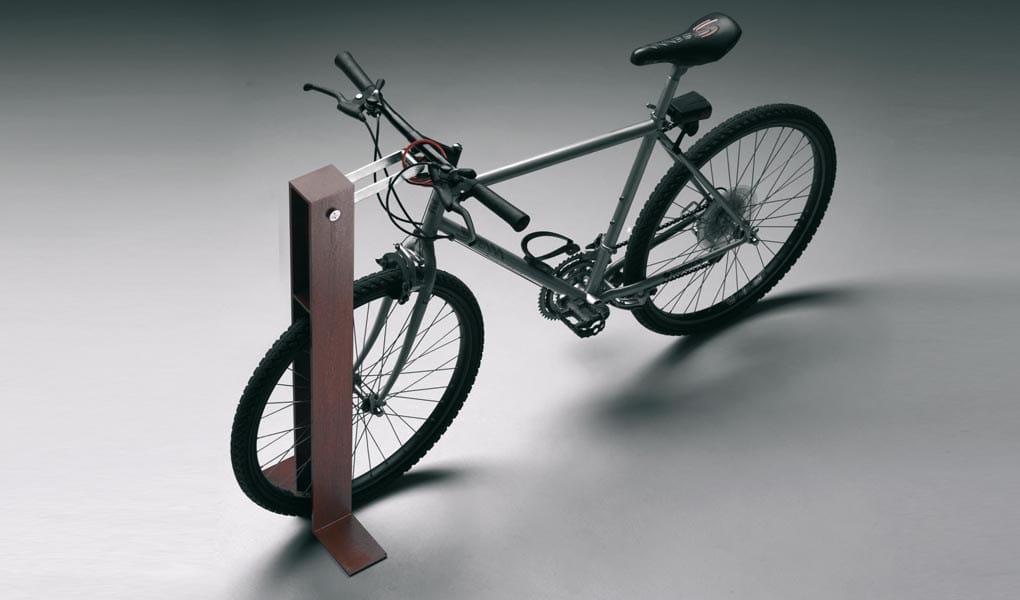 Corten Steel Bike Rack
