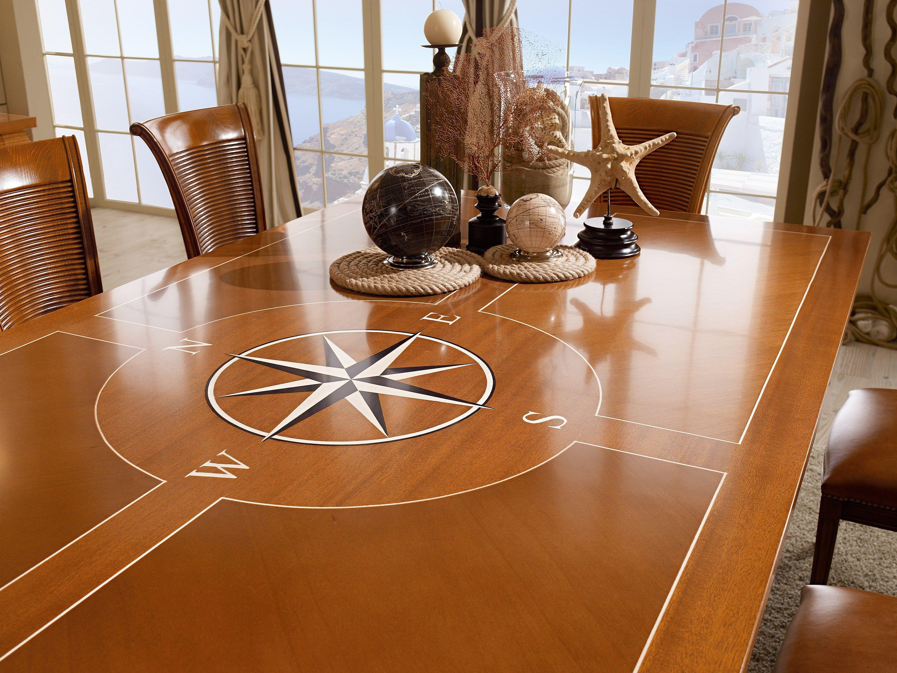 Sestante tavolo da pranzo by caroti - Tavolo in legno massello ...