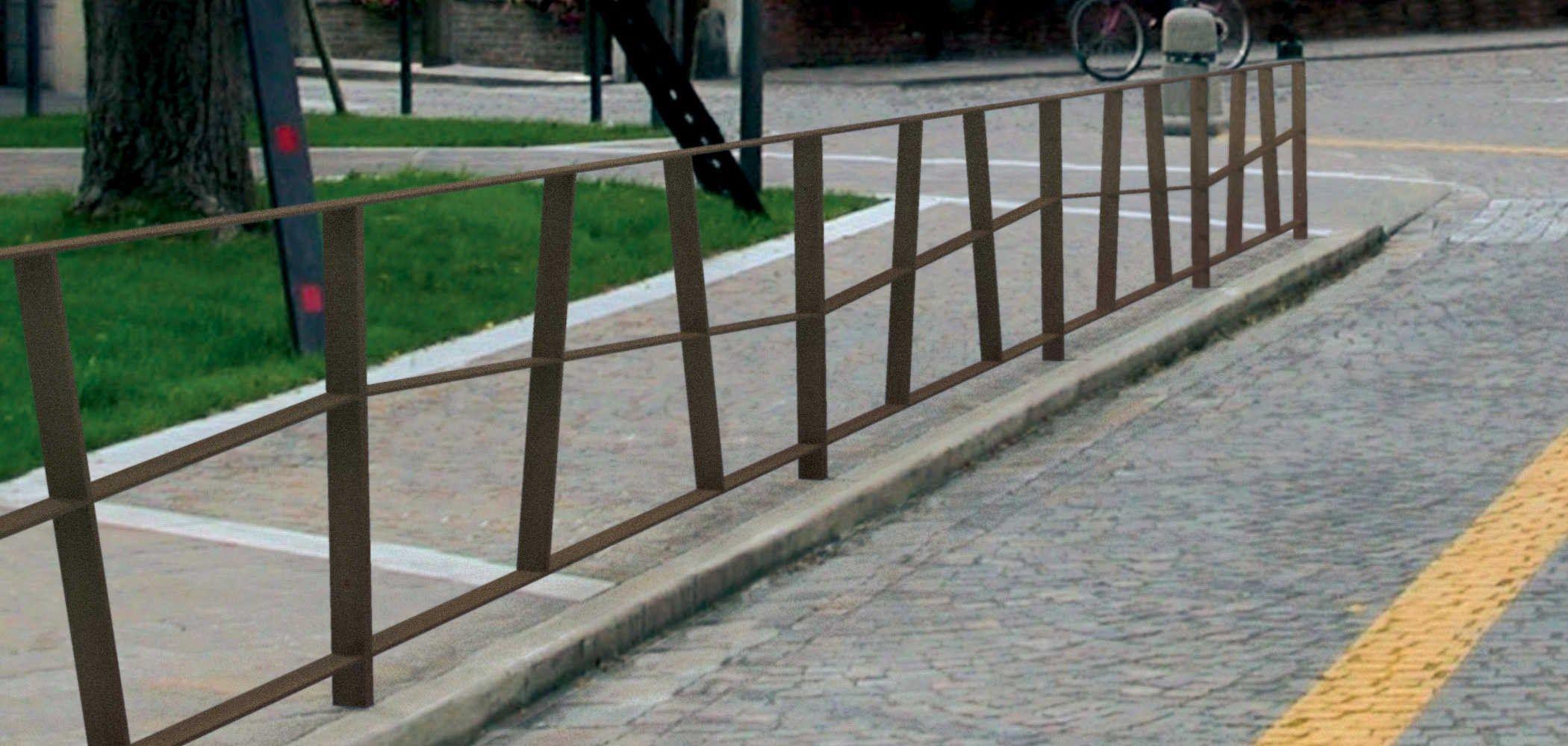 barri re de ville en acier route by metalco design alain. Black Bedroom Furniture Sets. Home Design Ideas