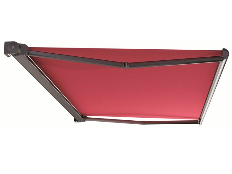 kassetten gelenkarm markise mit motor kumo by hella italia. Black Bedroom Furniture Sets. Home Design Ideas