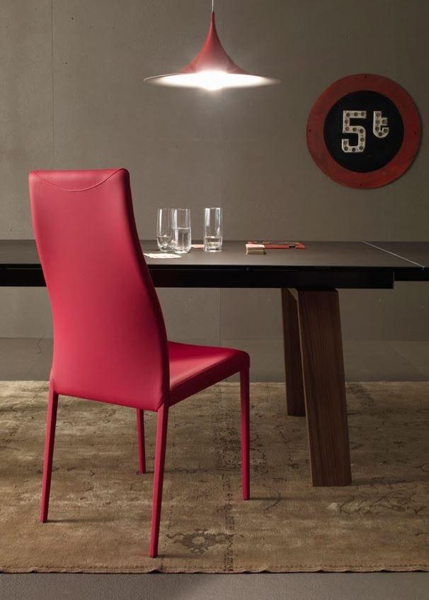 hayworth chaise avec dossier haut by italy dream design kallist design andrea lucatello. Black Bedroom Furniture Sets. Home Design Ideas