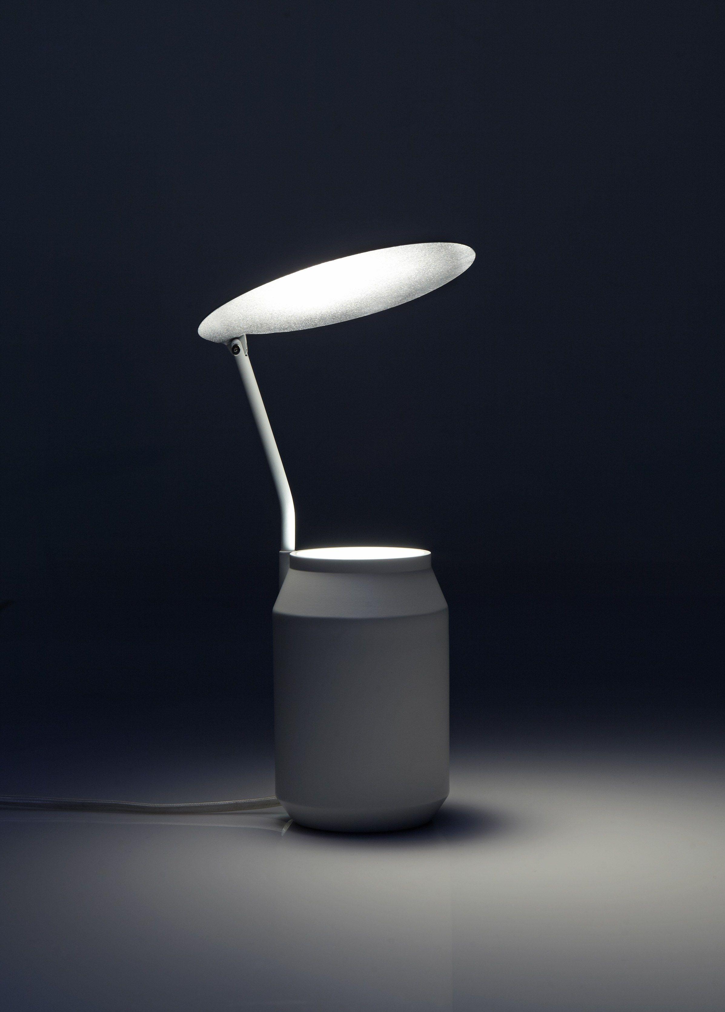 Lampe de table pour clairage indirect lens by forestier - Eclairage de table ...