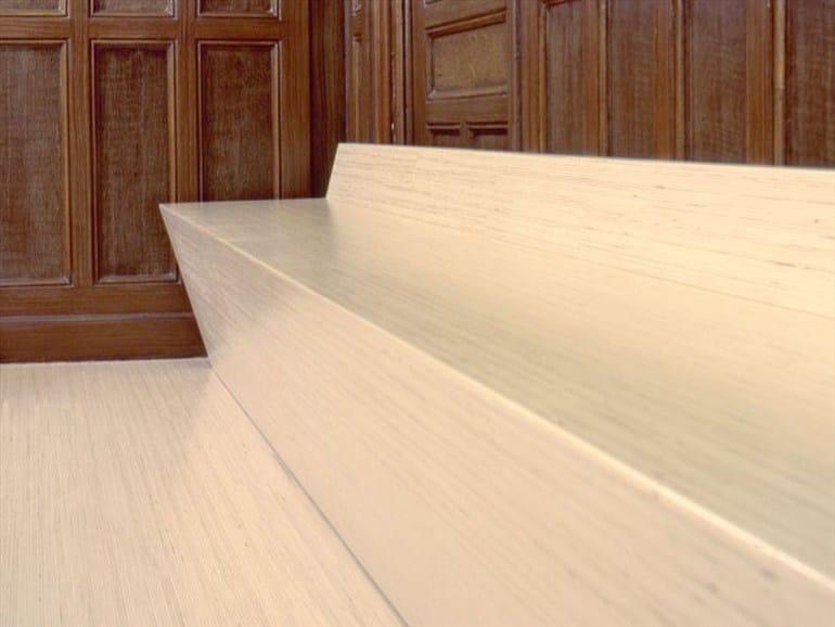 Rivestimento per scale in legno scale by plexwood - Rivestimento in legno per scale ...