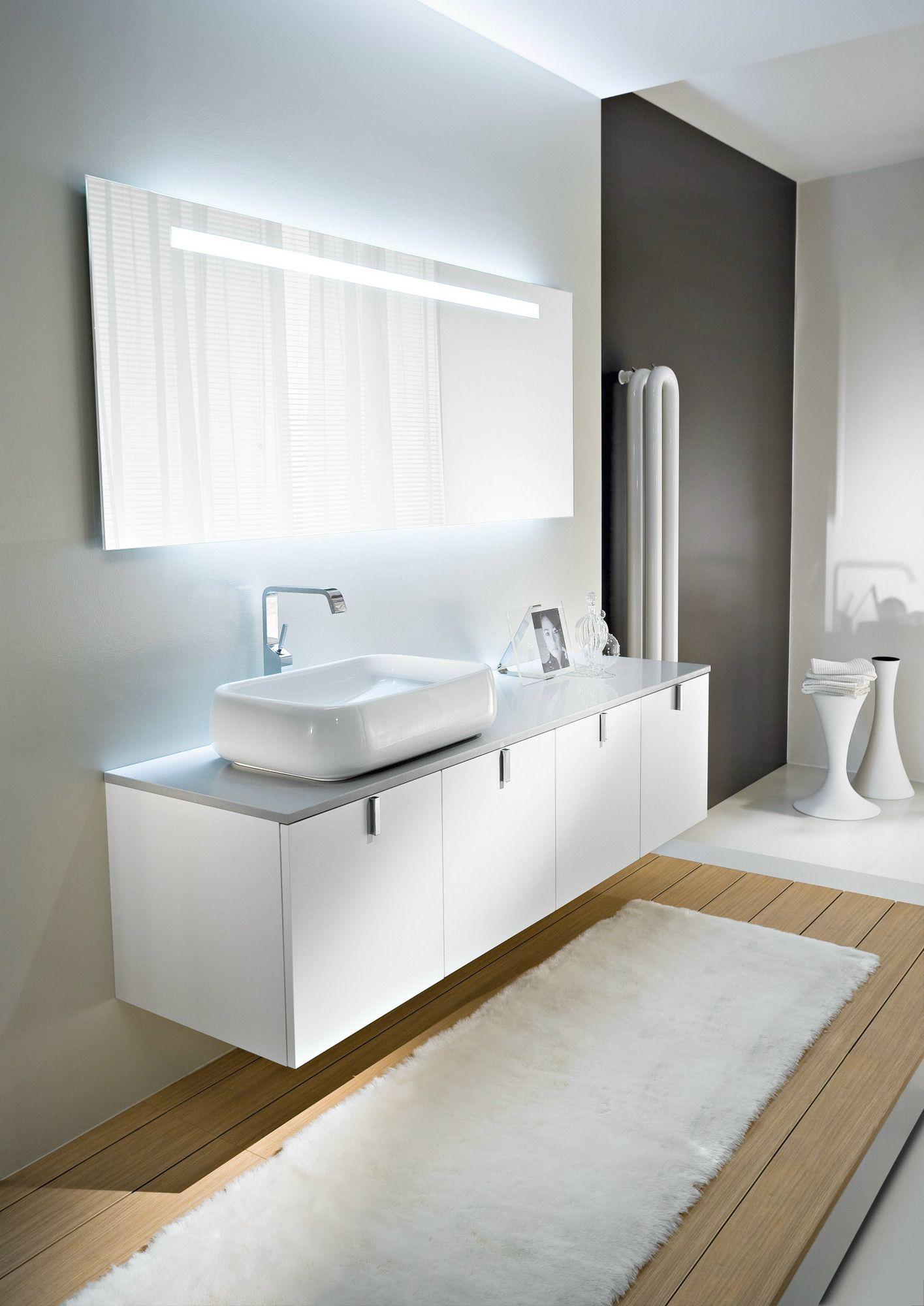 Mobile lavabo sospeso comp c04 by ideagroup - Mobili lavabo sospesi ...