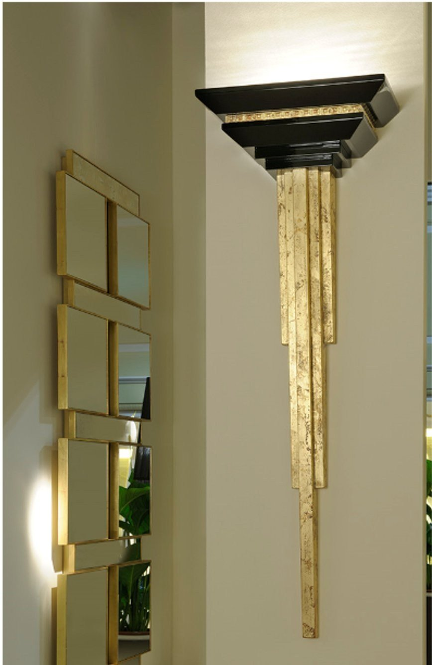 art deco milano wall light by transition by casali. Black Bedroom Furniture Sets. Home Design Ideas
