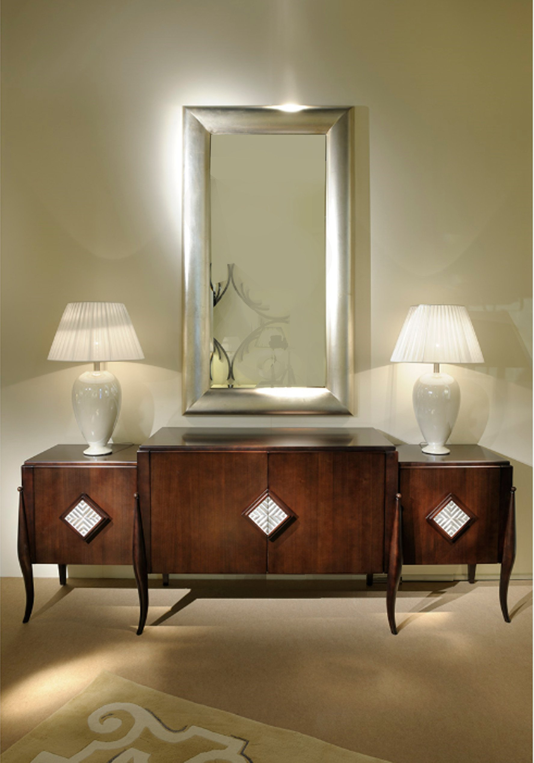 Art Deco Milano Miroir Rectangulaire By Transition By Casali