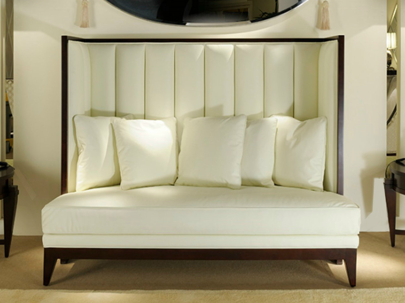 Art Deco Milano High Back Sofa By Transition By Casali