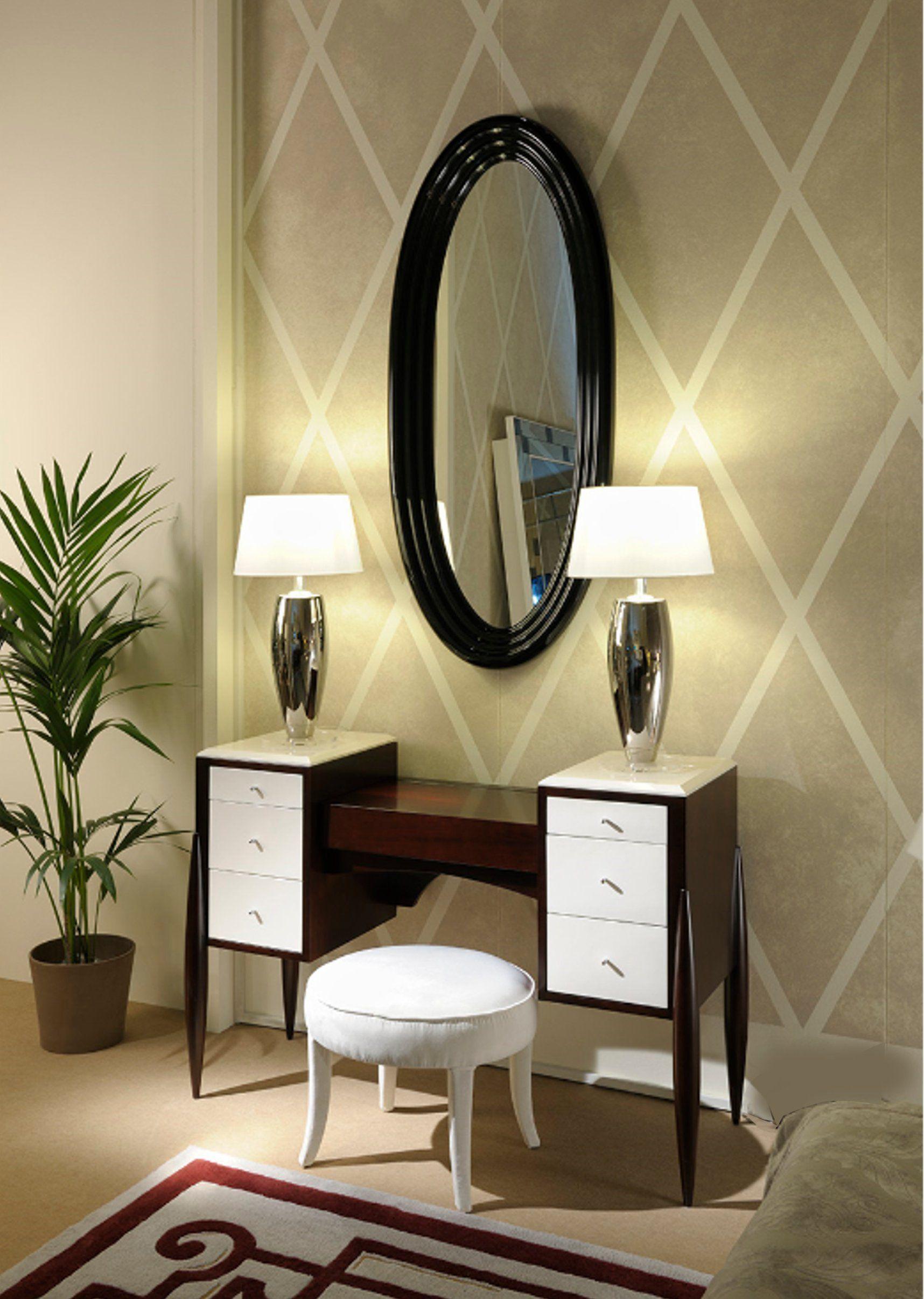 Art deco milano miroir avec cadre by transition by casali for Deco avec miroir mural