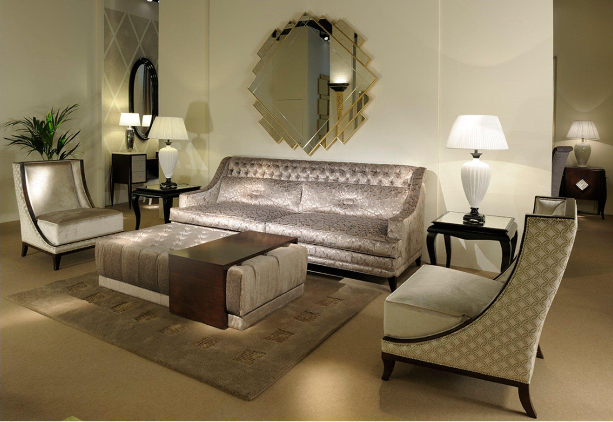 Art deco milano lampada da tavolo by transition by casali for Arredamento art deco