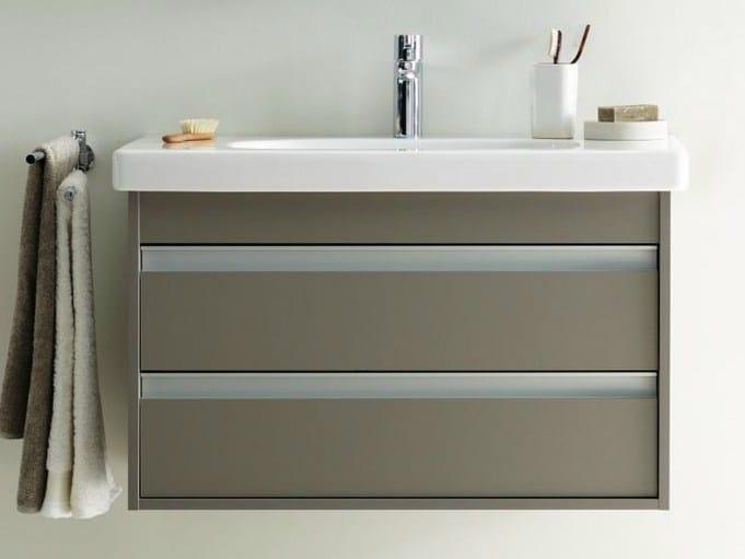 ketho waschtischunterschrank mit schubladen by duravit. Black Bedroom Furniture Sets. Home Design Ideas