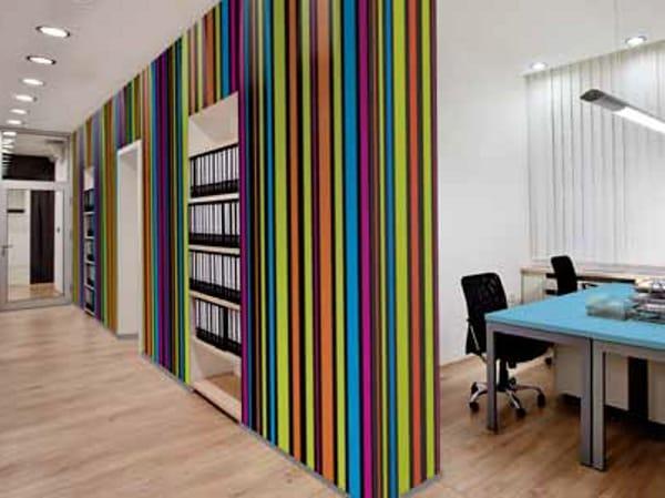 Rev tement mural pour int rieur hy05 colorblack by polyrey - Revetement mural interieur ...
